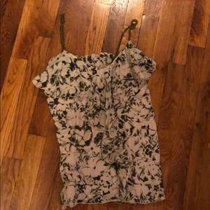 Size small Express tank top with metal straps